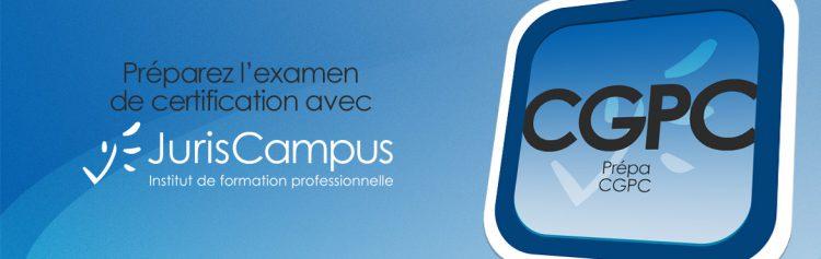 Bannière de l'inauguration du CGPC