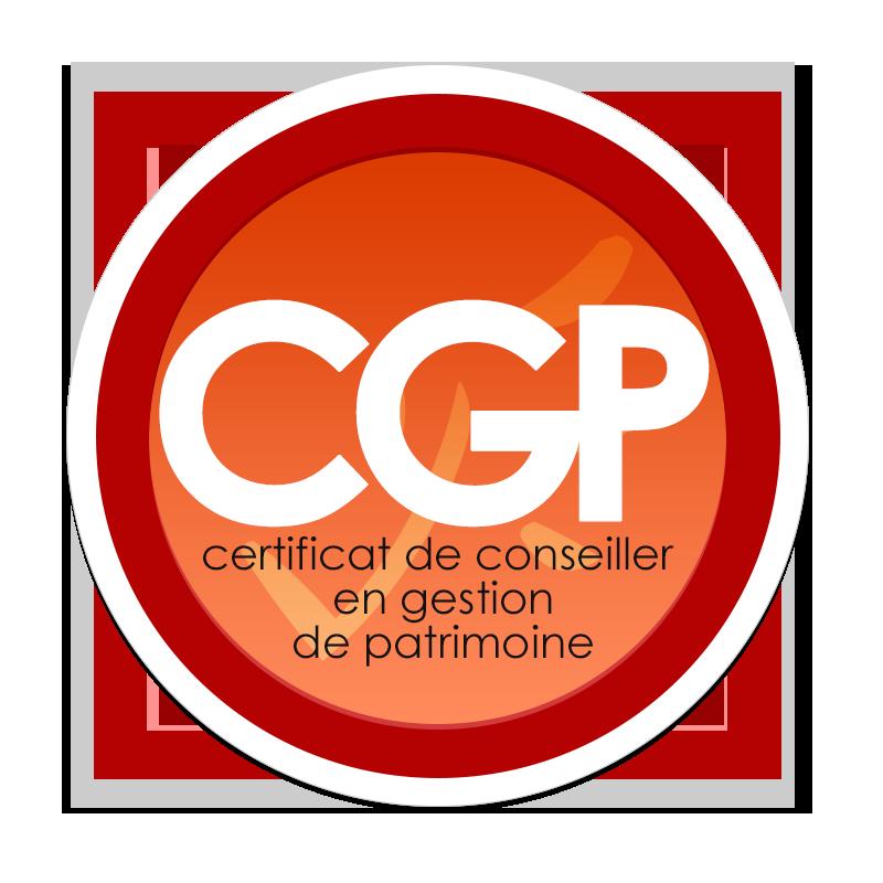Logo du Certificat de Conseiller en Gestion de Patrimoine