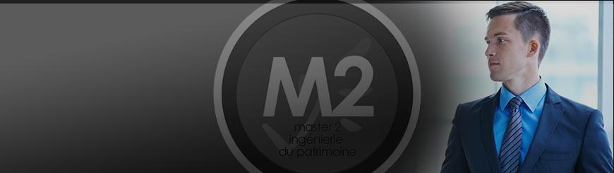Bannière du Master mention Droit du Patrimoine parcours type Ingénierie du Patrimoine (cycle de formation continue)