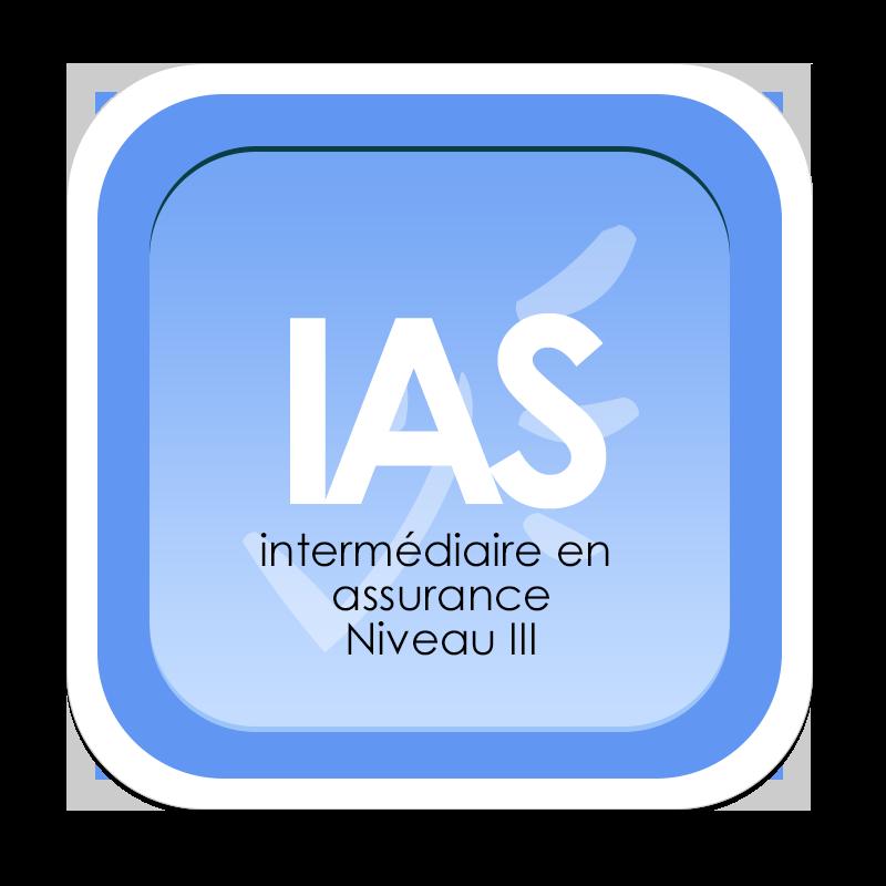 Logo de l'IAS Niveau III