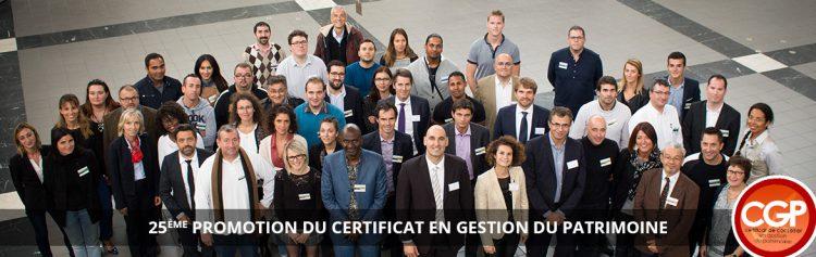 JurisCampus fêtait la 25ème promotion du Certificat en Gestion du Patrimoine