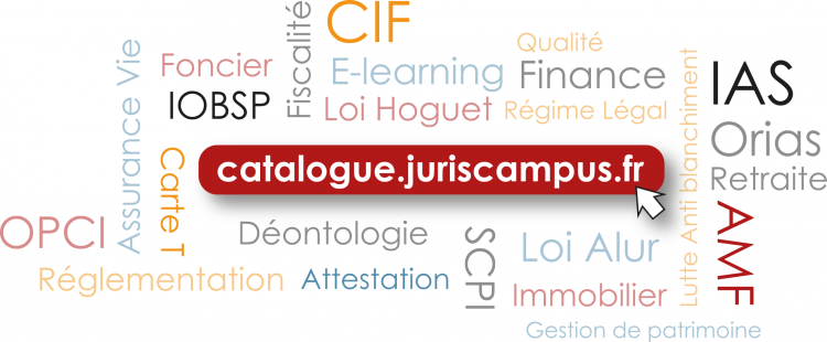 Bannière Catalogue JurisCampus