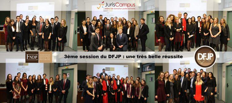 Bannière de la 3ème session du DFJP (2017)