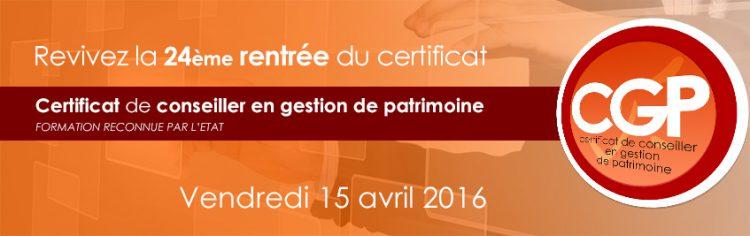 La 24ème promotion du Certificat en Gestion de Patrimoine à l'honneur chez JurisCampus !