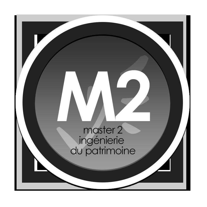 Logo du Master mention Droit du Patrimoine parcours type Ingénierie du Patrimoine (cycle de formation continue)