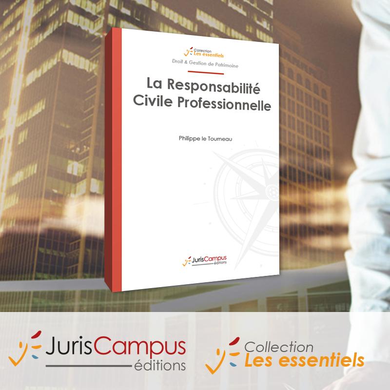 Couverture de La responsabilité civile professionnelle