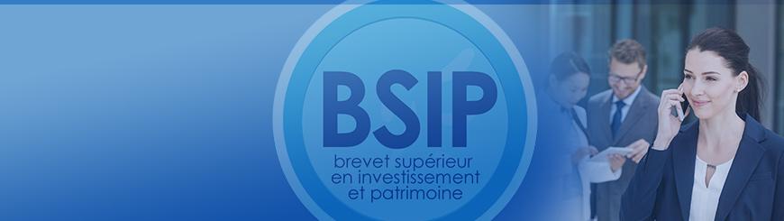 Bannière du Brevet Supérieur en Investissement et Patrimoine