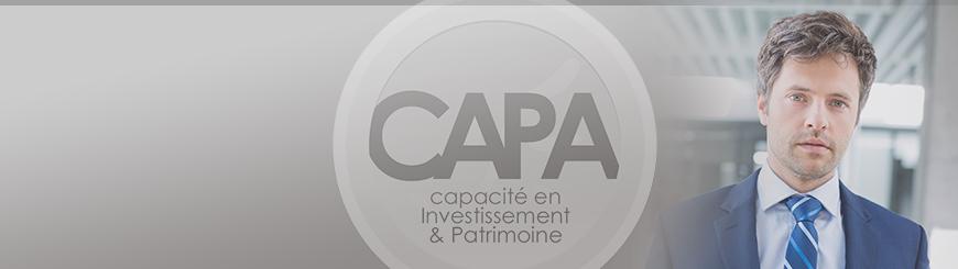 Bannière de la Capacité en Investissement et Patrimoine