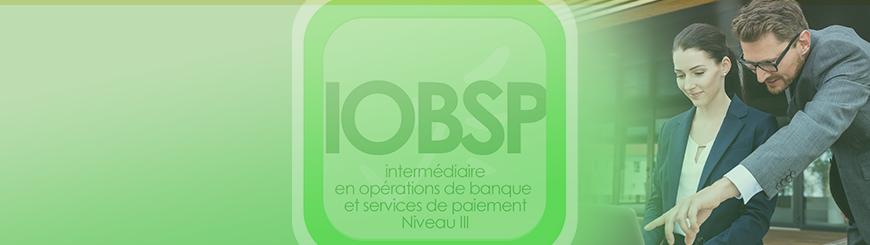 Bannière de l'IOBSP Niveau III