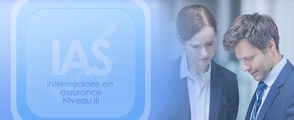 Bannière de l'IAS Niveau III