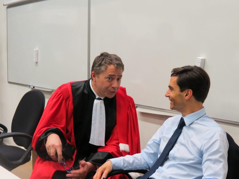 Michel Leroy et Renaud Mortier