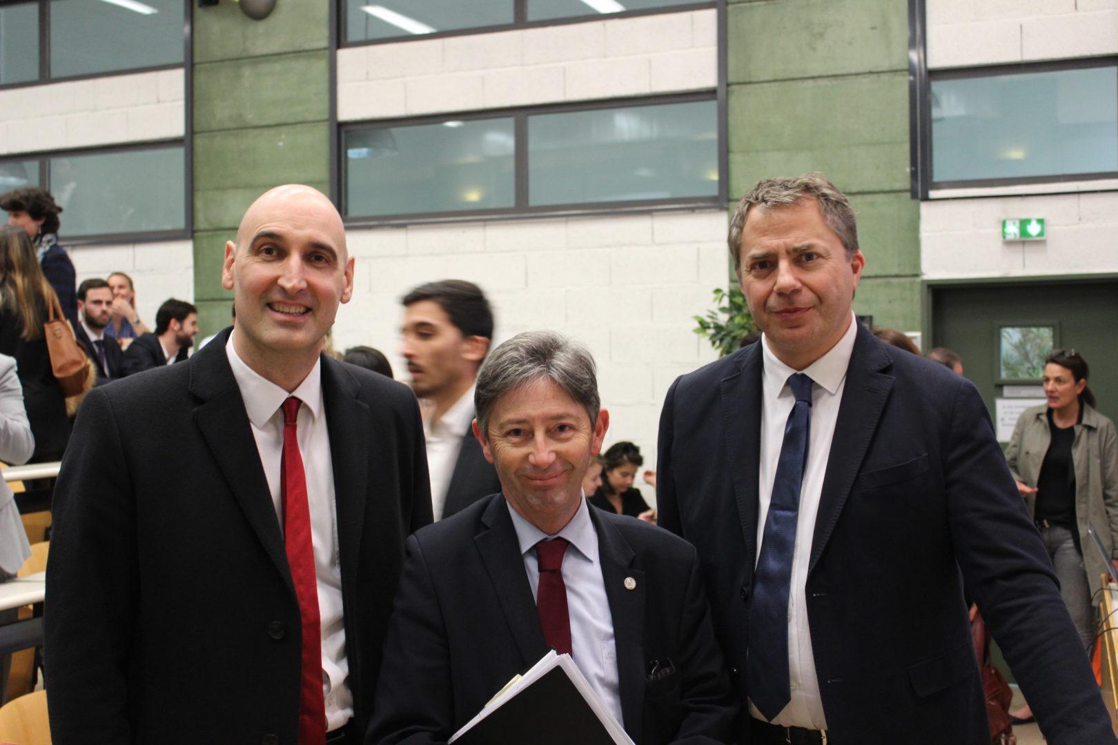 Nicolas Esplan, Philippe Nelidoff, Michel Leroy