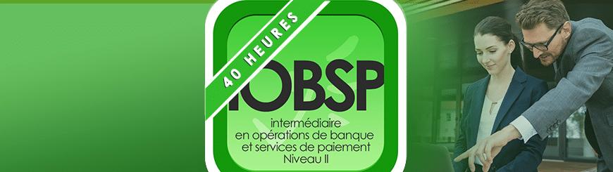 banner IOBSP Niveau 2 40 h