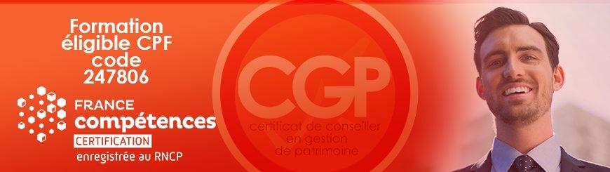 bannier CGP CPF France compétences