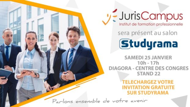 JurisCampus : Salon Studyrama 2020