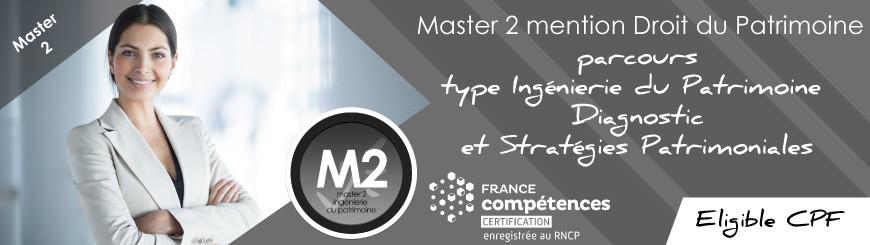 Master 2 mention Droit du Patrimoine