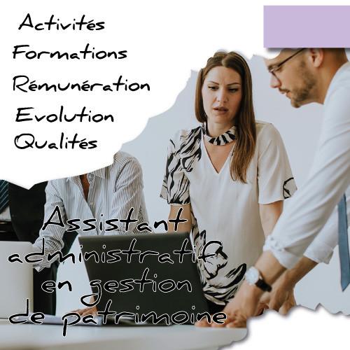Devenez Assistant Administratif en Gestion de Patrimoine avec Juriscampus