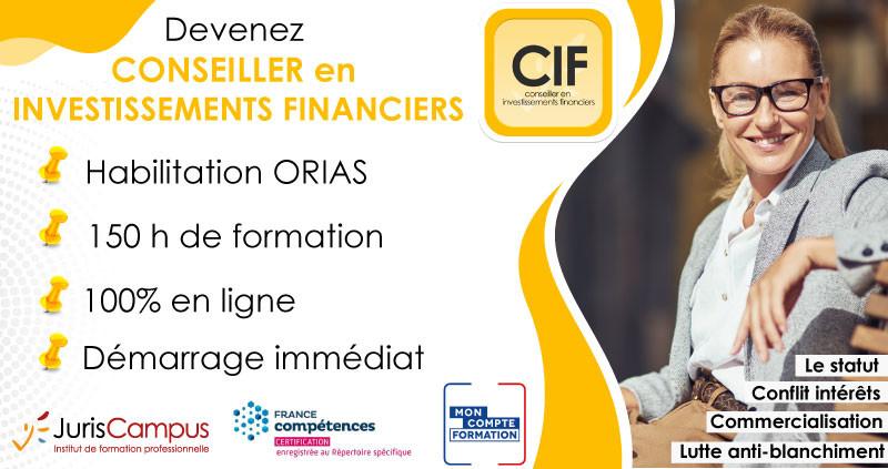 Devenez Conseiller en Investissements Financiers avec JurisCampus