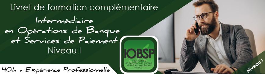 Inscrivez vous au livret IOBSP niveau 1 cumul expérience pro+formation avec Juriscampus
