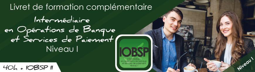 Inscrivez vous au livret IOBSP niveau 1 cumul satut IOBSP2+formation avec Juriscampus