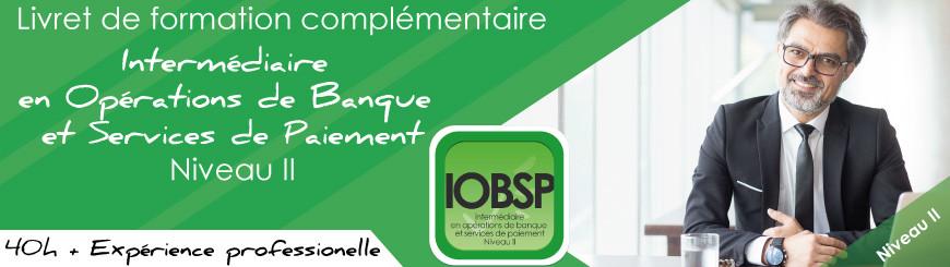 Inscrivez vous au livret IOBSP niveau 2 cumul expérience pro+formation avec Juriscampus