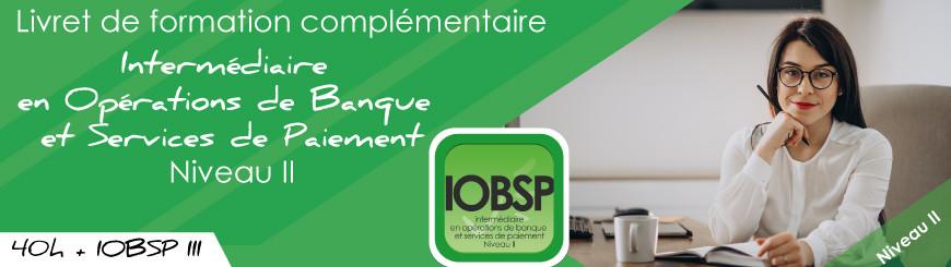 Inscrivez vous au livret IOBSP niveau 2 cumul statut IOBSP3+formation avec Juriscampus