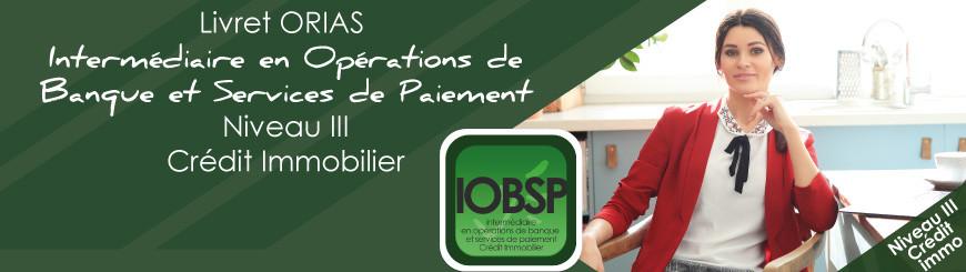 Inscrivez vous au livret IOBSP niveau 3 - Crédit Immobilier avec Juriscampus