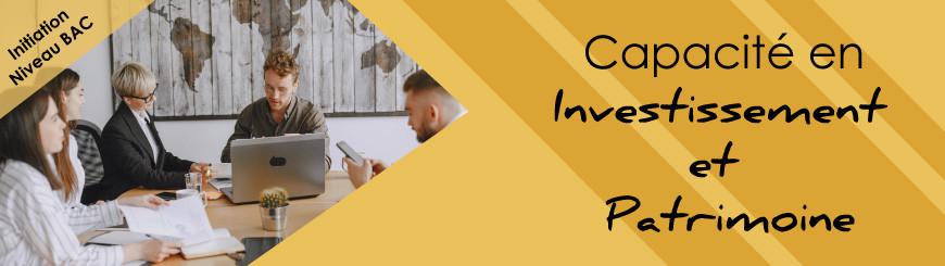 Inscrivez-vous à la capacité en investissement et patrimoine avec JurisCampus